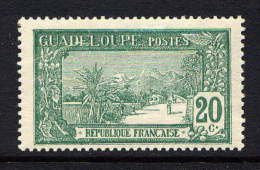 GUADELOUPE - N° 80* - LA GRANDE SOUFRIERE - Guadeloupe (1884-1947)