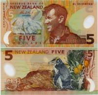 NEW ZEALAND        5 Dollars        P-185b        (20)06        UNC - New Zealand