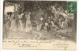 EN PROVENCE - La Farandole - .... Vivo La Farandoulo - F. Mistral - Coll. L.A. N° 29 - 1912 - Provence-Alpes-Côte D'Azur