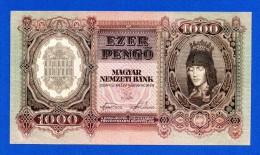 Hungary 1000 Pengo 1943 Pick 116 - AU - Ungheria