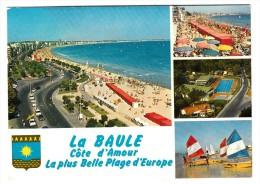 44 - La Baule - Multi-vues (blason) - Editeur: Yvon N° 10440176 - La Baule-Escoublac