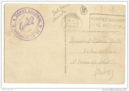 FM Depot Colonial 59 INFANTERIE MARINE - WW II