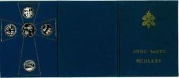 MEDAGLIE COMMEMORATIVE ANNO SANTO 1975 IN ARGENTO 986% - Gettoni E Medaglie