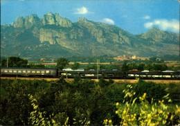 N°247 DID CARTE GRAND FORMAT CHEMINS DE FER FRANCAIS TRAIN AUTOS COUCHETTES - Trains