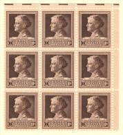USA SC #878 MNH B9  1940 Famous Americans / Scientists / 10c Addams, CV $13.50 - United States