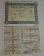 General Motos Cycles - Transports