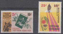 VIETNAM - 1974 Law Reform Surcharges. Scott 482-483. MNH ** - Viêt-Nam
