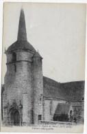 (RECTO / VERSO) PONTIVY EN 1919 - EGLISE DE STIVAL - VITRAUX REMARQUABLES - Pontivy