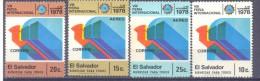 1978. El Salvador, International Congress, 4v, Mint/** - El Salvador
