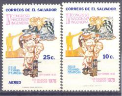 1978. El Salvador, National Congress, 2v, Mint/** - El Salvador