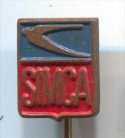 SIMCA  - Car  Automobile, Vintage Pin Badge - Pin's & Anstecknadeln