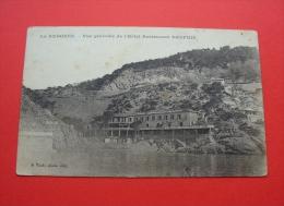 Ensuès-la-Redonne - Ca. 1910 ? - France --- Canton Châteauneuf-Côte-Bleue , Hotel-Restaurant Dauphin --- 62 In - Istres