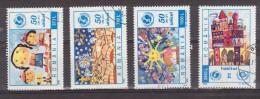 1996 -  50 ANNIV.  L U.N.I.C.E.F.  Mi No 5176/5179 Et Yv No 4319/4322 - Used Stamps