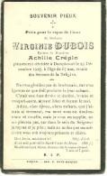 Rouvroy Dampicourt  Virginie Dubois épouse De Achille Crépin 1860 1927 - Rouvroy