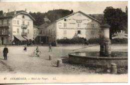 88. Gerardmer. Hotel Des Vosges - Gerardmer