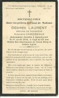 Rouvroy Dampicourt   Lucien Désirée Laurent épouse De Auguste Damoiseaux  1869 1934 - Rouvroy