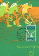 FELDHOCKEY-RASENHOCKEY, Western Germany, 1972, Special Postmark !! - Hockey (su Erba)