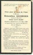 Rouvroy Dampicourt  Ernestinne Georges épouse De Julien Saint Mard  1876 1929 - Rouvroy
