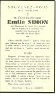 Rouvroy Dampicourt  Emile Simon 1873 1942 - Rouvroy