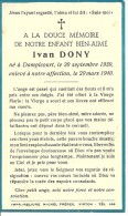 Rouvroy Dampicourt  Ivan Dony 1939 1940 - Rouvroy