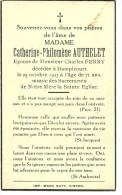 Rouvroy Dampicourt  Catherine Philomène Authelet épouse De Charles Ferry 1842 1913 - Rouvroy
