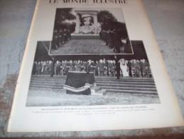 LE MONDE ILLUSTRE 9 JUILLET 1910 : FALLIERES EN AUVERGNE - MAROC -  ZEPPELIN VII - WESTMINSTER - BOXE - AERONOTIQUE