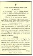 Rouvroy Dampicourt  Auguste Damoiseaux Veuf De Désirée Laurent Ancien Secrétaire Communal 1866 1944 - Rouvroy