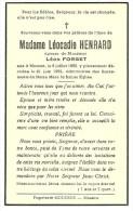 Musson Léocadie Henrard épouse De Léon Forget  1880 1952 - Musson