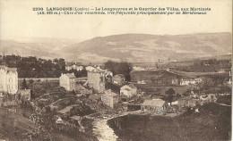 Langogne Le Longouyrou Et Le Quartier Des Villas Aux Martinets - Langogne
