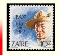 Zaire 1169**  10z Scoutisme   MNH - 1980-89: Neufs