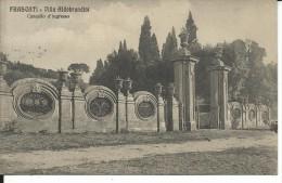 DIS104 - VILLA ALDOBRANDINI - FRASCATI - ROMA  - F.P. VIAGGIATA 1918 - Altre Città
