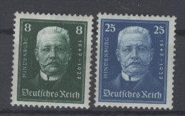 Deutsches Reich Michel No. 403 , 405 * ungebraucht