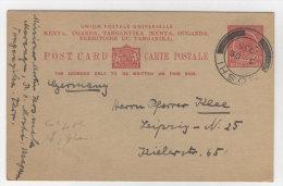 Keny Uganda Tanganyika Ganzsache gebraucht 1935