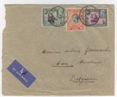 Keny Uganda Tanganyika Brief nach Belgien 1938