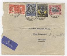 Keny Uganda Tanganyika Brief nach Belgien 1937