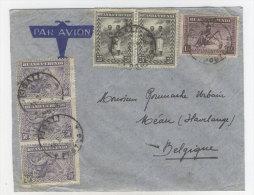 Ostafrika Ruanda Brief nach Belgien 1938