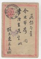 China Ganzsache gebraucht 1897