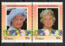 Tuvalu Nui 1985 - Regina Madre Elisabetta Queen Mother Elizabeth MNH ** - Tuvalu