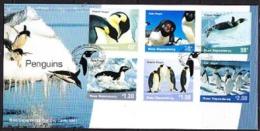 Ross Dependency 2001 Penguins 6v FDC (F2839) - FDC