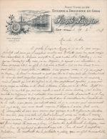 3 Factures   1899 Et 1898  Joseph Laugier épicerie Droguerie GAP - Unclassified
