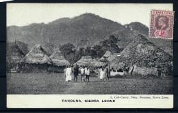 SIERRA LEONE - CARTE POSTALE DE PANGUNA    NON VOYAGEE   INTERRESSANT  A VOIR  LOT P2239 - Sierra Leone