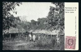SIERRA LEONE - CARTE POSTALE DE MAFULOMOO    NON VOYAGEE  PEU COMMUN  A VOIR  LOT P2240 - Sierra Leone