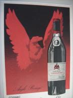 PUB03 - CPA - COGNAC -  NAPOLEON AIGLE ROUGE DE LEOPOLD BRUGEROLLE - MATHA/COGNAC (EDITION DRAEGER MONTROUGE) - Advertising