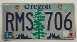 Plaque D'immatriculation - USA - Etat De L'Oregon - - Number Plates