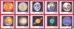 Sri Lanka Stamps 2014, Solar System, MNH - Sri Lanka (Ceylon) (1948-...)