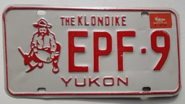 Plaque D'immatriculation - CANADA - Territoire Du Yukon - - Nummerplaten