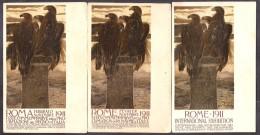 I2922  - CAMBELLOTTI – ESPOSIZIONE DI ROMA 1911 - Exposiciones