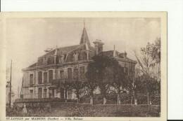 FR1854    ---   ST LONGIS Par MAMERS   ( Sarthe )   --   VILLA BELMAR - Ohne Zuordnung