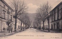 - 26 - ST MAURICE D'HOSTUN : La Rue Principale - Sin Clasificación