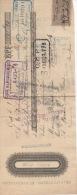 Chèque Mandat  Jules Basset Gassier Frères  Gap  Paris 1897sans Frais Refus Motivé BPF Timbre  Taxe - Alte Papiere